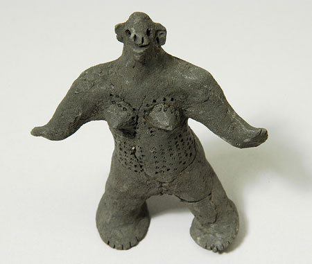 Nuer toy figure