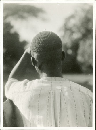 Zande man (back of head)
