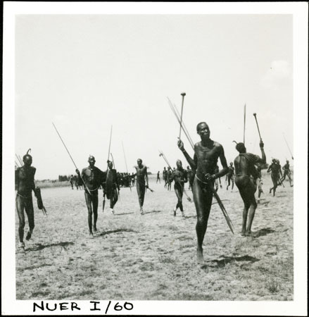 Nuer Men At Dance 1998 355 30 2 From The Southern Sudan