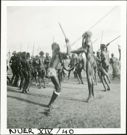 A Nuer dance