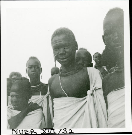 Nuer youths at mission