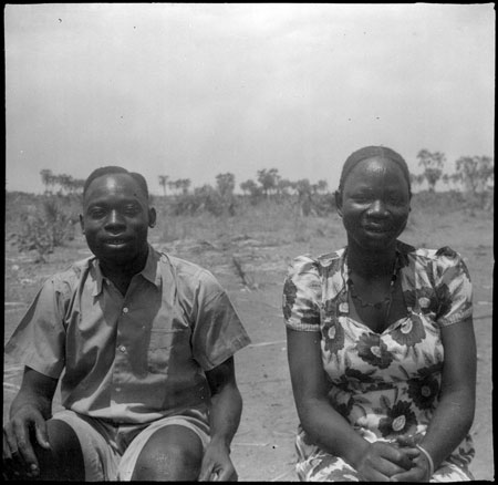 Portrait of Mandari couple