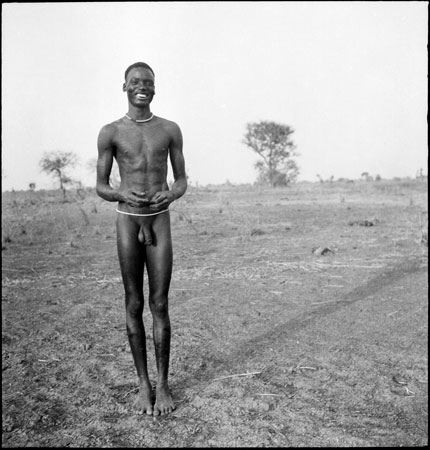 Portrait of a Dinka youth