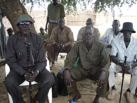 Chief of Nuer Leek